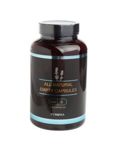 Empty Size-0 Vegetarian Capsules (Set of 275)
