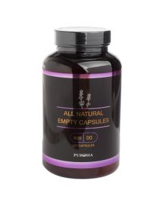 Empty Size-00 Vegetarian Capsules (Set of 225)